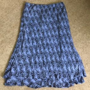 NWT style & co long maxi skirt size 16W